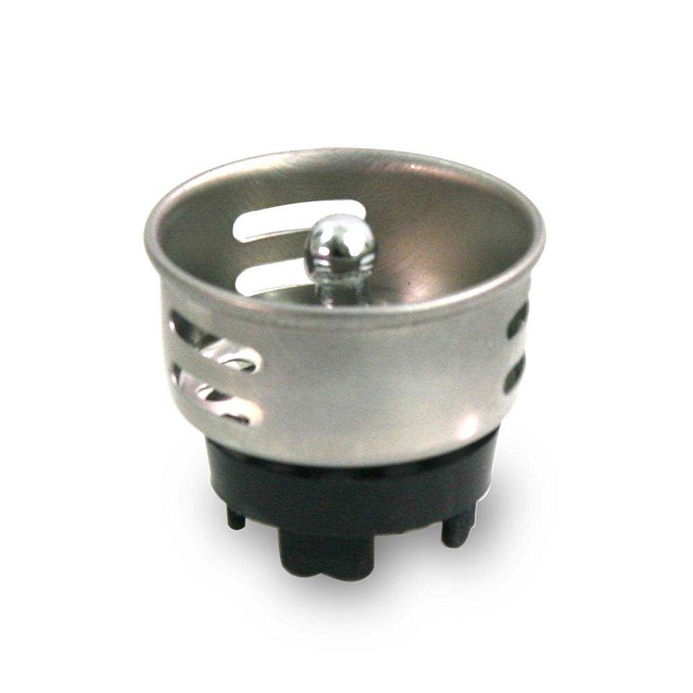 1-1/2 in. Stainless Steel Junior Duo Strainer / Stopper Replacement Basket