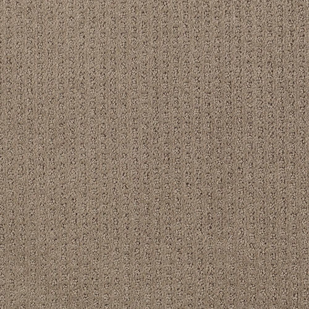 Sequin Sash - Color Cocoa Pattern 12 ft. Carpet