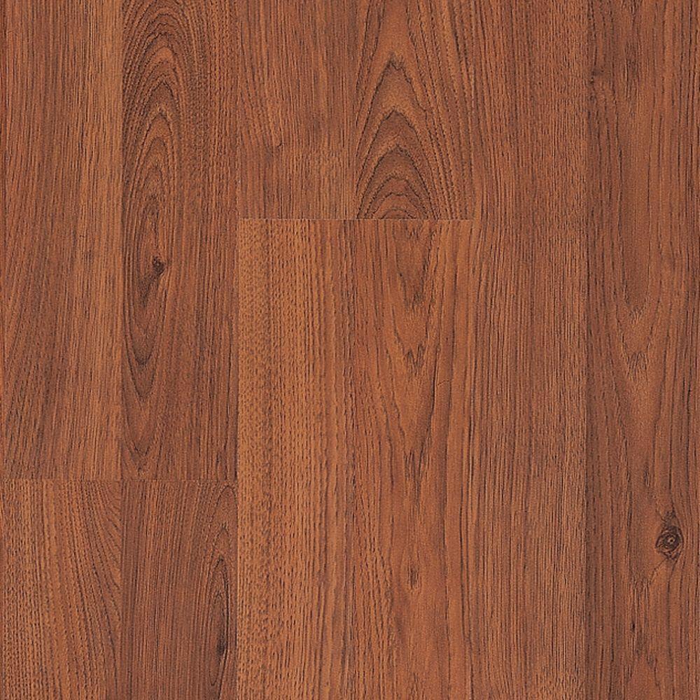 Pergo Presto Seasoned Hickory Laminate Flooring - 5 in. x 7 in. Take Home Sample-DISCONTINUED