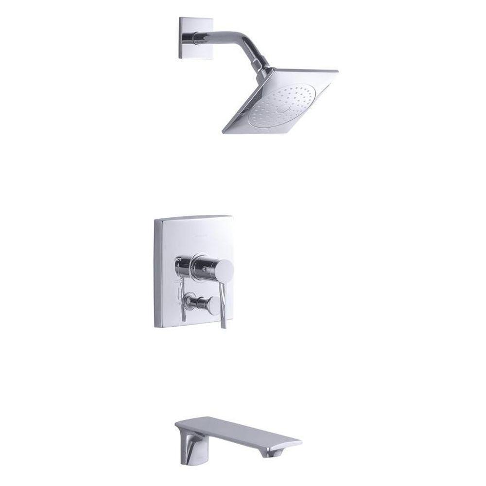 kohler stance ritetemp 1handle tub and shower faucet