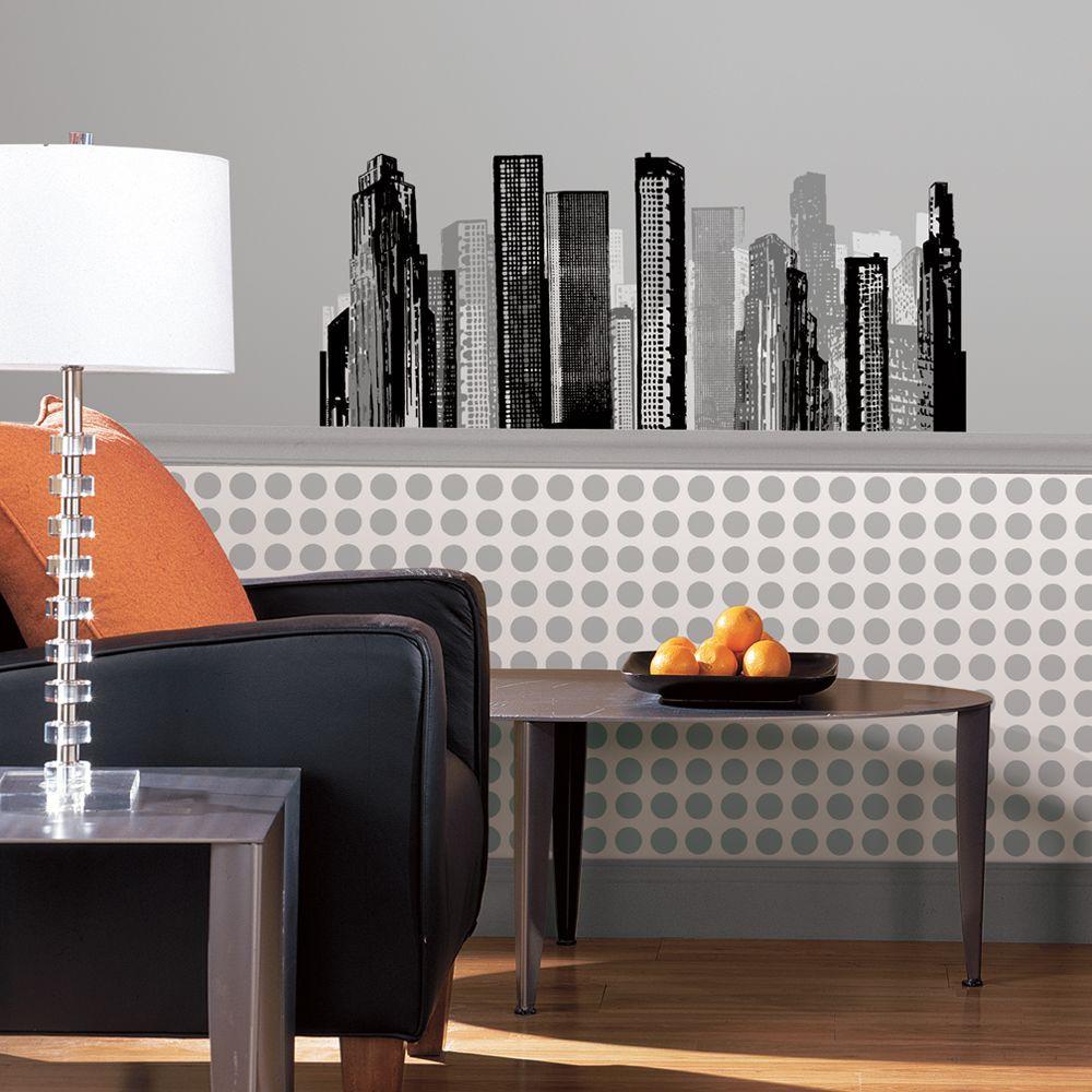 Wall In A Box Skyline Wallpaper