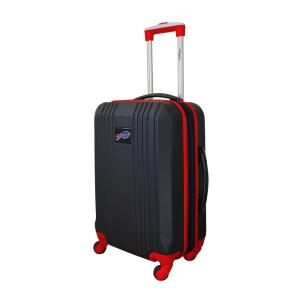 NFL Buffallo Bills Red 21 in. Hardcase 2-Tone Luggage Carry-On Spinner Suitcase
