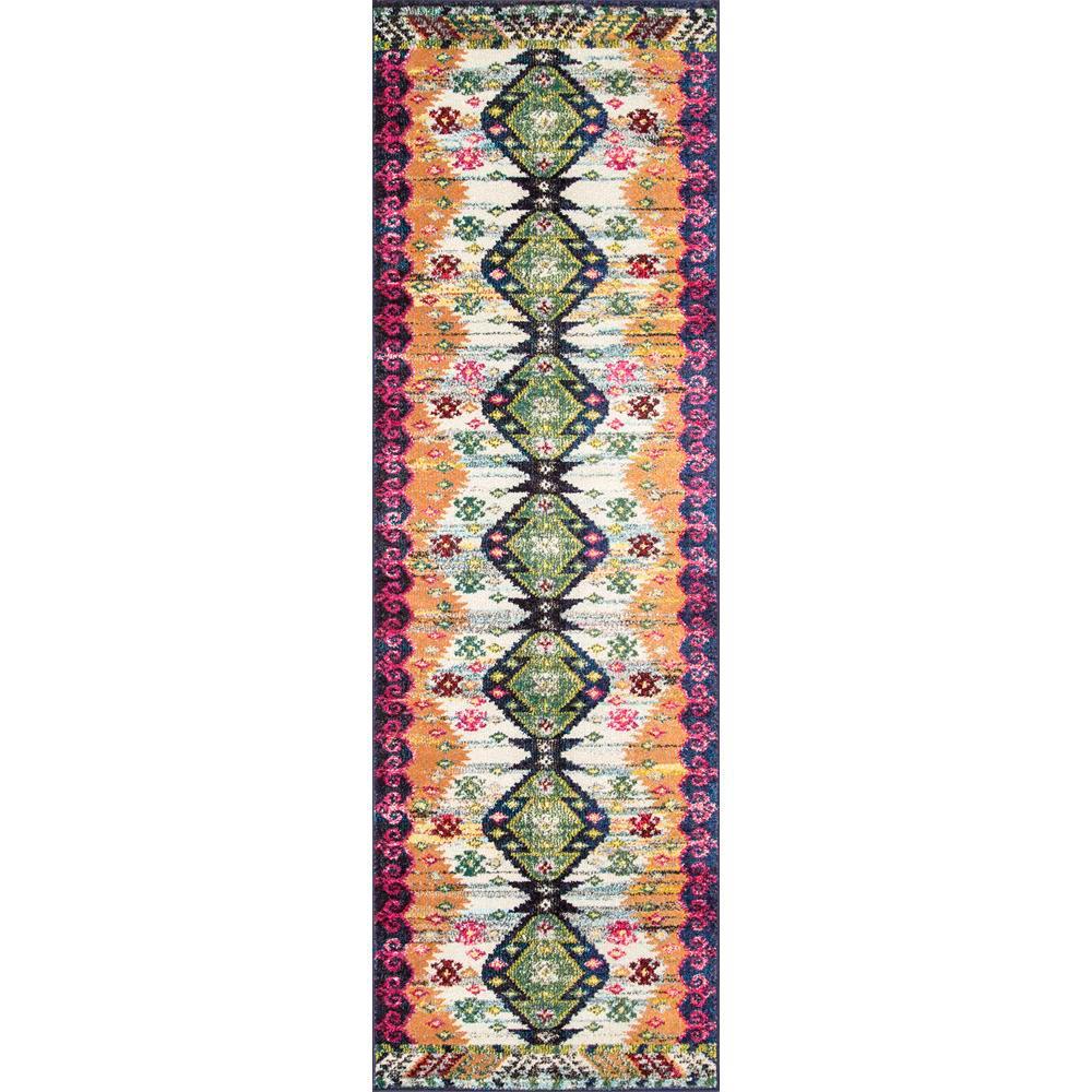 Vintage Aztec Vinnie Multi 2 ft. 6 in. x 8 ft. Runner