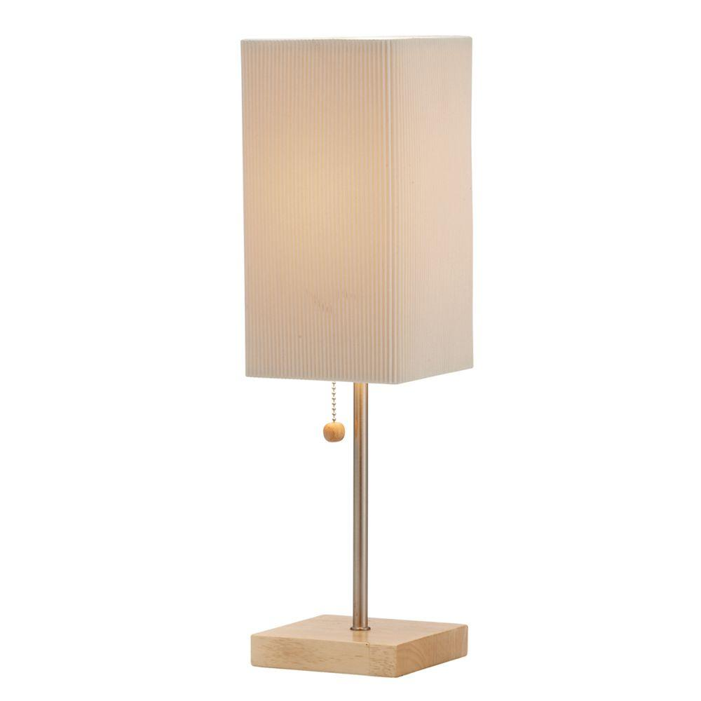 Adesso angelina 19 in natural table lamp 3327 12 the home depot adesso angelina 19 in natural table lamp mozeypictures Images