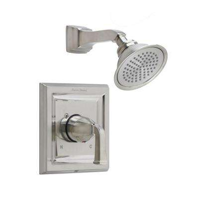 Town Square 1-Handle Shower Faucet Trim Kit with Volume Control in Brushed Nickel (Valve Sold Separately)
