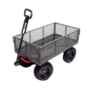 Click here to buy Gorilla Carts 1,200 lb. Steel Multi-Use Dump Cart by Gorilla Carts.