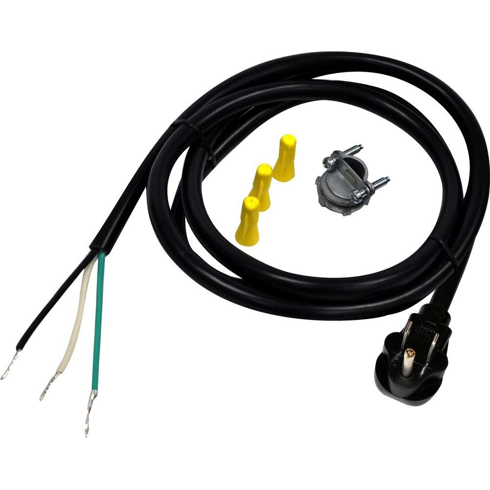 Whirlpool 3-Prong Dishwasher Power Supply Kit on plug 3 prong, fuse 3 prong, connectors 3 prong,