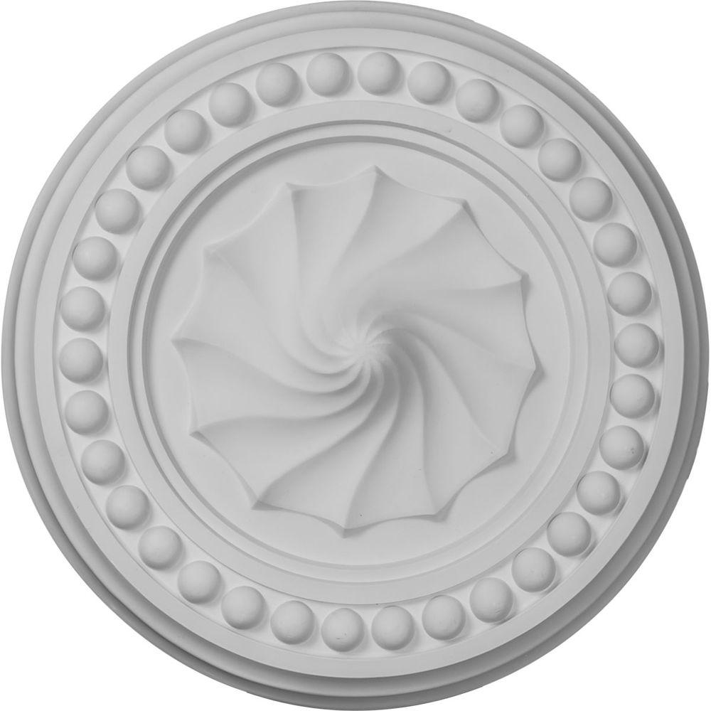 15-3/4 in. Foster Shell Ceiling Medallion