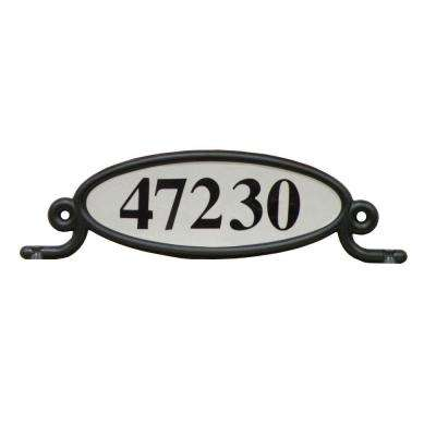 Reflective Address Number Plaque