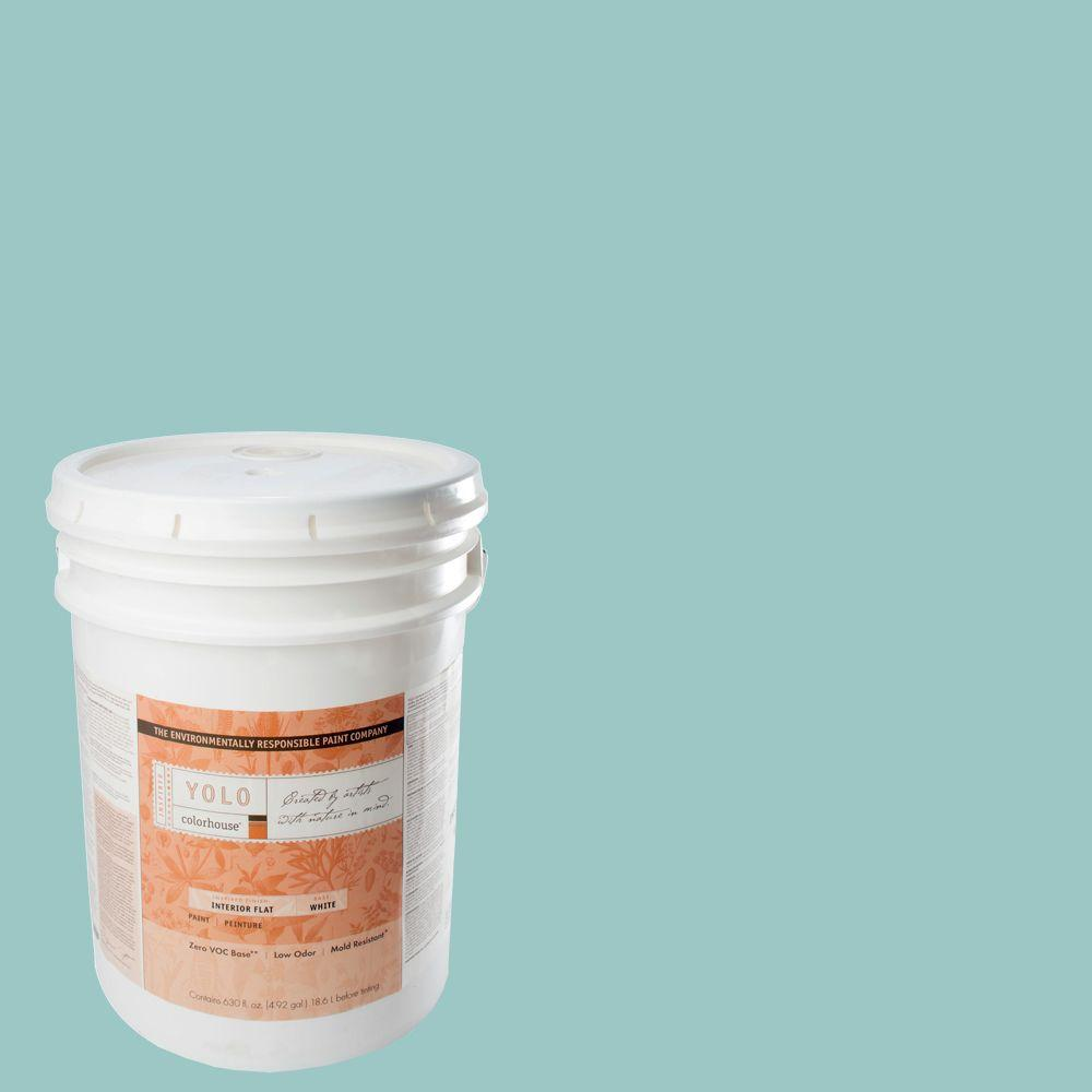 YOLO Colorhouse 5-gal. Dream .04 Flat Interior Paint-DISCONTINUED