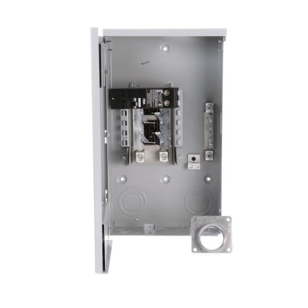 Murray 200 Amp 4-Space 8-Circuit Main Breaker Outdoor Trailer Panel-LW204TL  - The Home Depot | Murray 200 Amp Wiring Diagram |  | The Home Depot