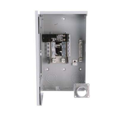 200 Amp 4-Space 8-Circuit Main Breaker Outdoor Trailer Panel