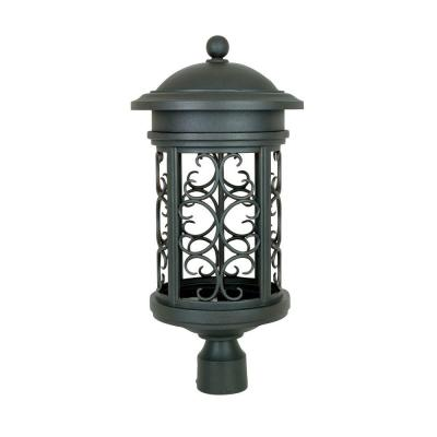 Ellington Outdoor Oil Rubbed Bronze Post Lantern