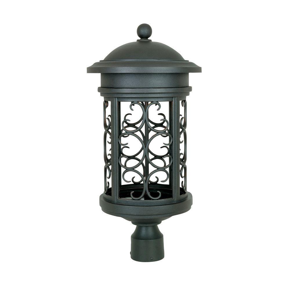 Ellington Outdoor Oil Rubbed Bronze Post Lantern