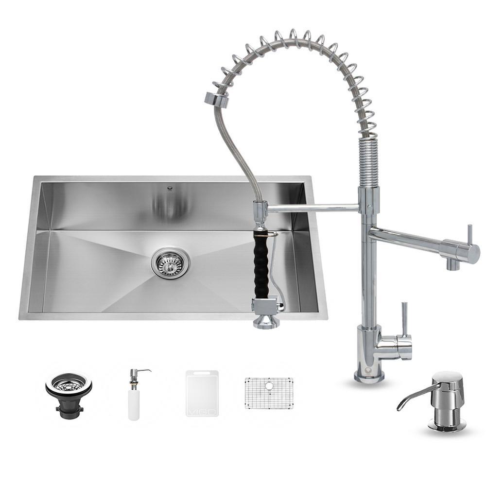 Chrome - Kitchen Sinks - Kitchen - The Home Depot