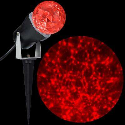 10.24 in. LED Kaleidoscope (Red) Stake