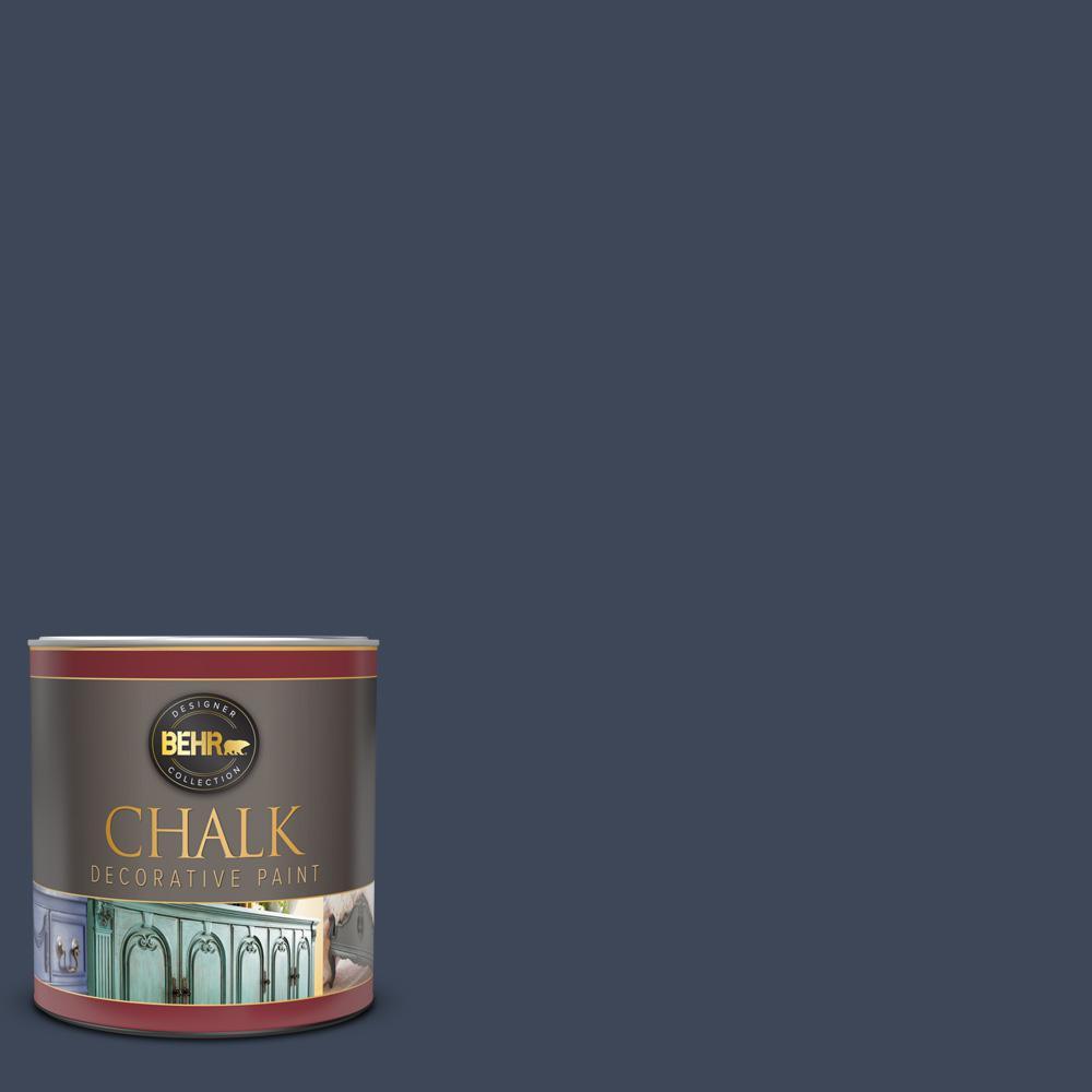 1 qt. #M500-7 Very Navy Interior Chalk Decorative Paint