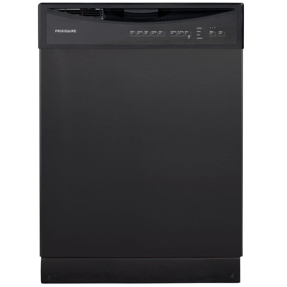 Frigidaire Front Control Dishwasher in Black