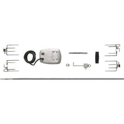 Commercial Grade Rotisserie Kit for Extra-Large Grills