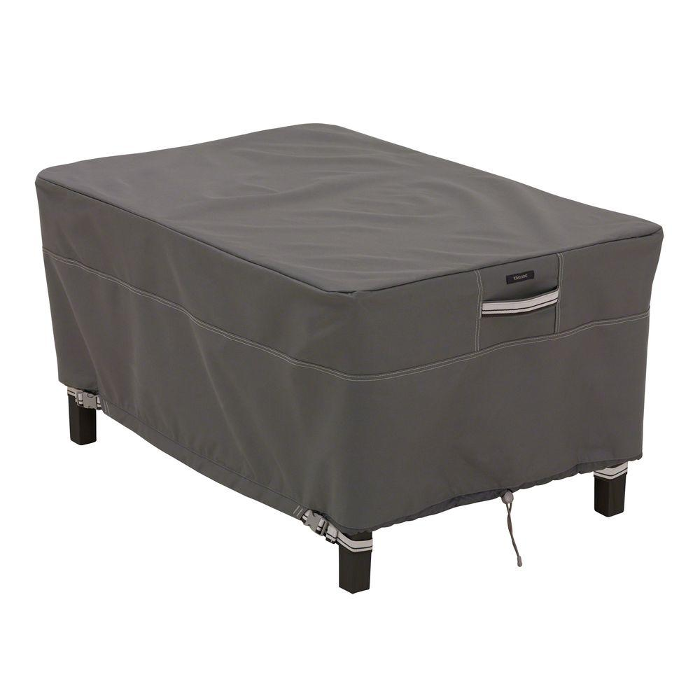 Ravenna Rectangular Small Patio Ottoman/Table Cover