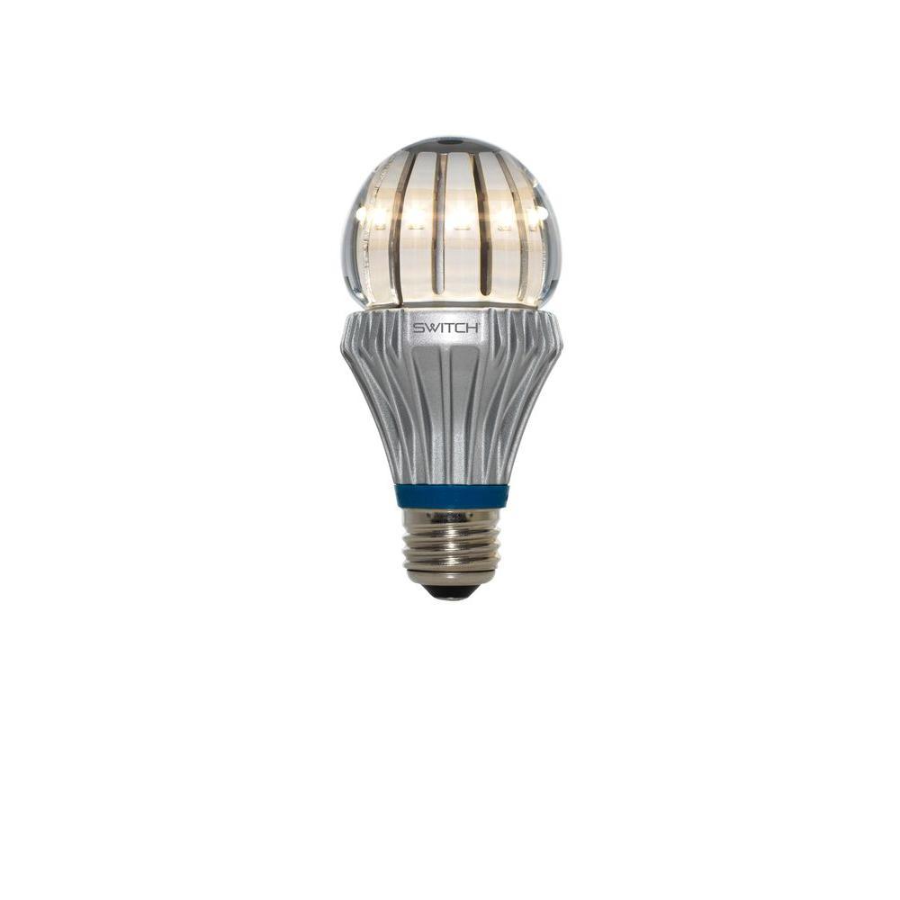 75W Equivalent Soft White  A21 Clear LED Light Bulb