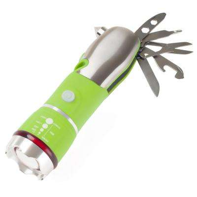 3 AAA LED 12 in 1 Green Emergency Safety Multi Tool
