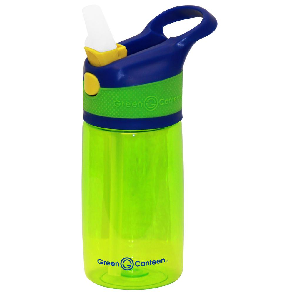 12 oz. Blue and Green Plastic Tritan Hydration Bottle (6-Pack)