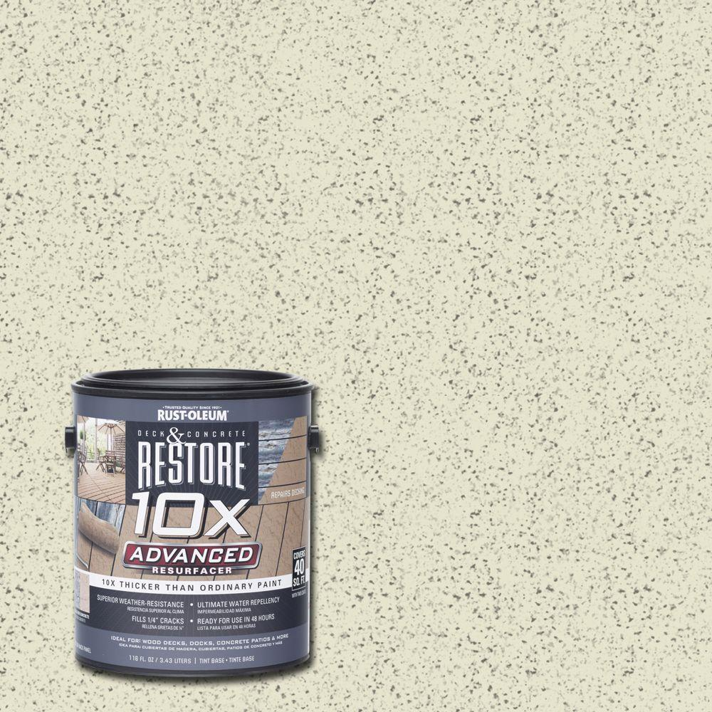 Rust-Oleum Restore 1 gal. 10X Advanced Sailcloth Deck and Concrete Resurfacer