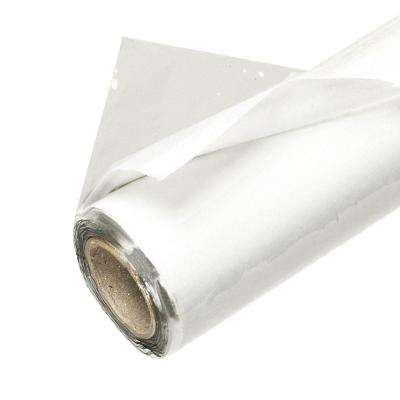 44 in. x 216 in. x 4 Mil Clear Rolled Vinyl Sheeting