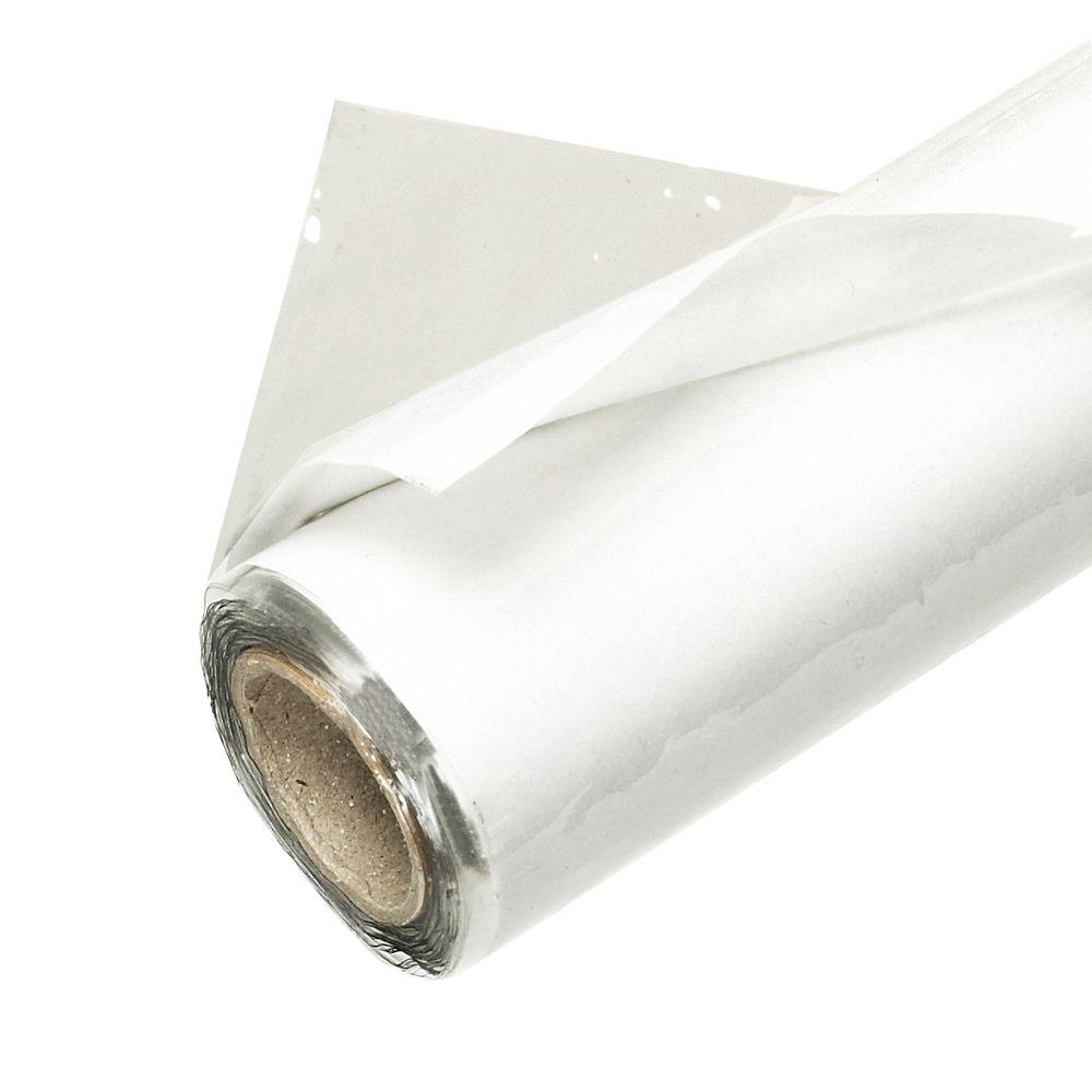 Frost King 48 In X 25 Ft Crystal Clear Plastic Vinyl Sheeting V4825 4a The Home Depot