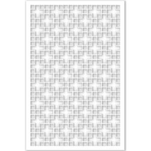 Acurio Latticeworks 1 4 In X 32 In X 4 Ft White Chinese
