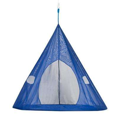 5 ft. x 5 ft. Dia Portable Hammock in Dark Blue