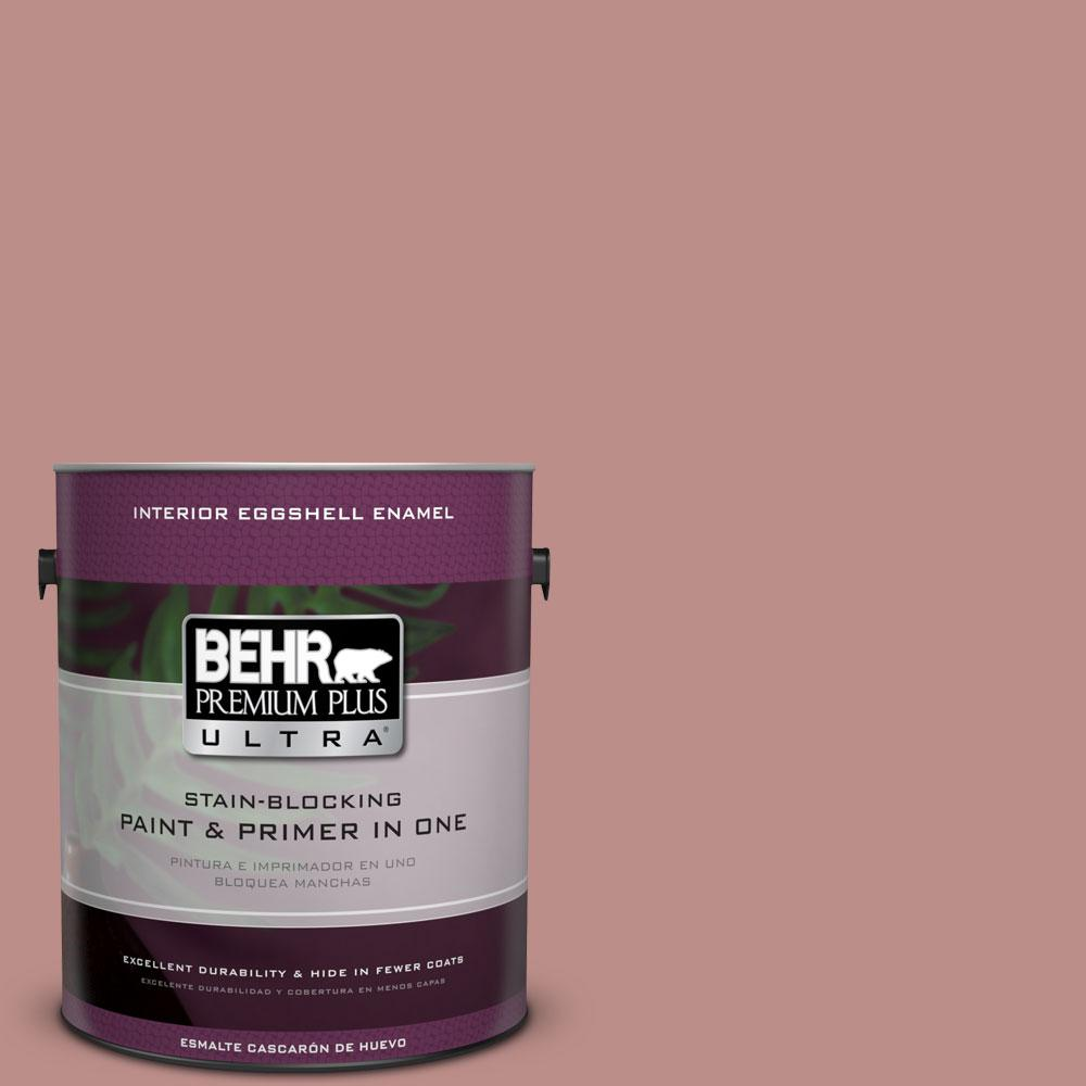 BEHR Premium Plus Ultra 1 gal. #160F-4 Ponder Eggshell Enamel Interior Paint and Primer in One