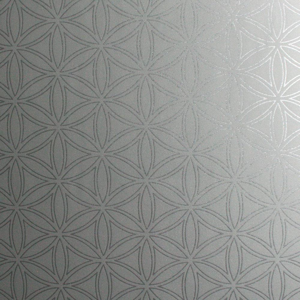Graham & Brown Gray Gloriental Removable Wallpaper-20-439
