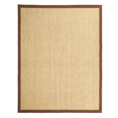 Penley II Harvest Chocolate 9 ft. x 12 ft. Indoor Area Rug