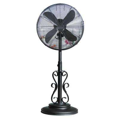 19 in. Ebony Outdoor Fan