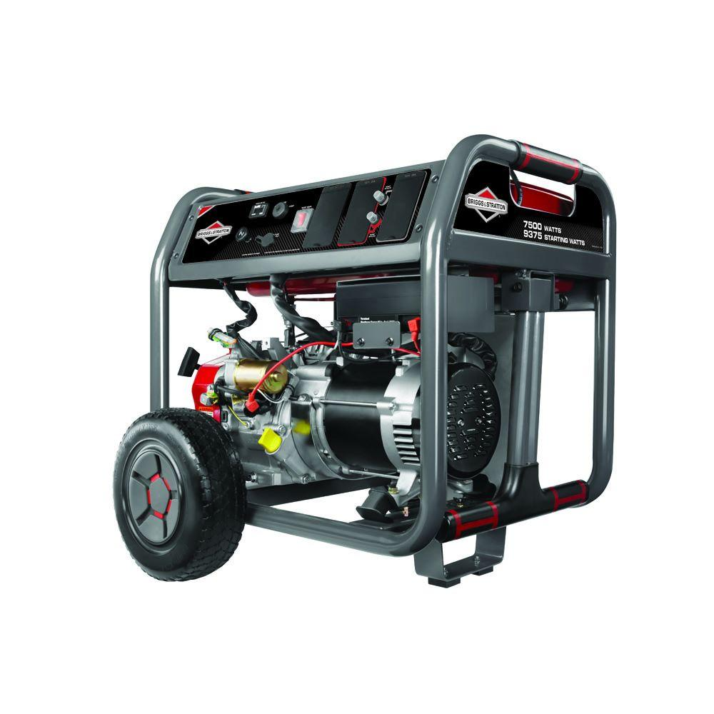 Generac 5500 Watt Gasoline Powered Portable Generator 5939 The Gp5000 Wiring Diagrams Home Depot