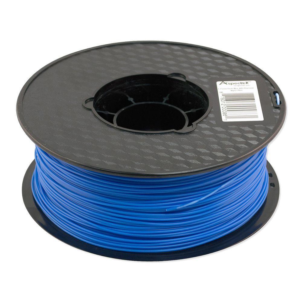3d Printer Filament >> Aspectek 3d Printer Premium Dark Blue Pla Filament