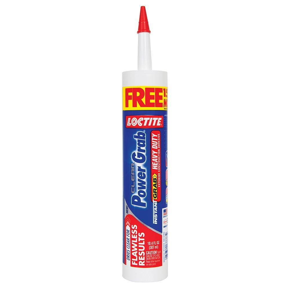 Loctite Power Grab Express 10.4 fl. oz. Heavy Duty Construction Adhesive Bonus Fill