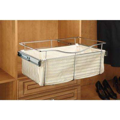 24 in. x 7 in. Tan Closet Basket Liner