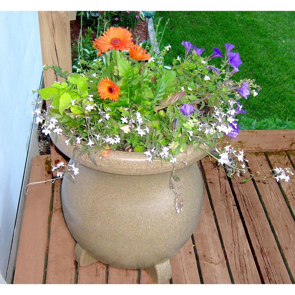 Koolatron Large Decorative Planter Sandstone Look