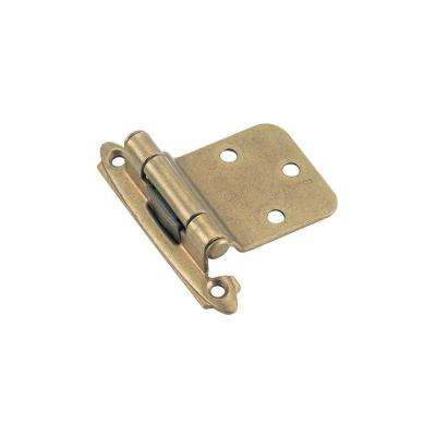 2 in. W x 2-3/4 in. H Self-Closing Face Mount Reverse Bevel Hinge