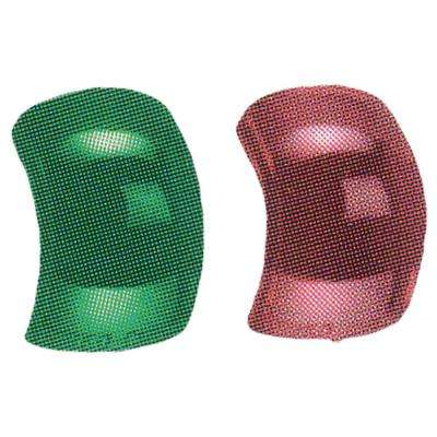 Replacement Lenses for Side Lights in Red Green