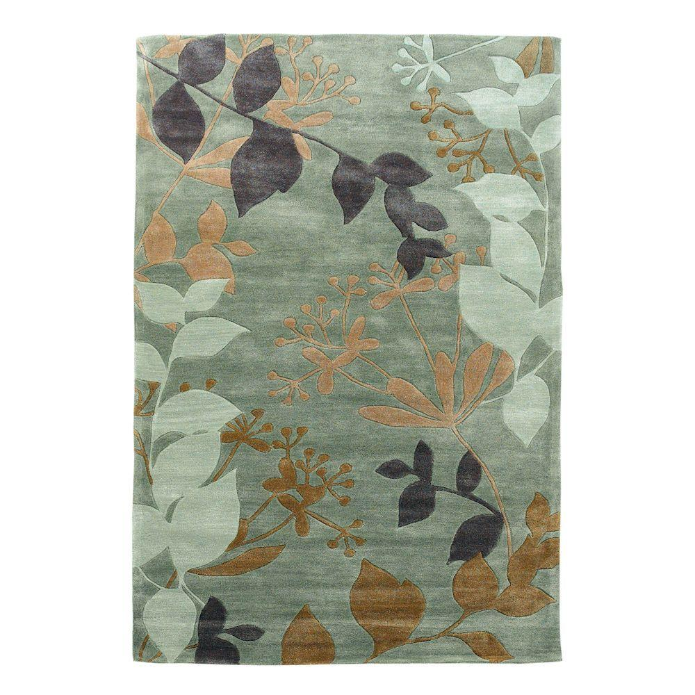 10 By 10 Area Rugs: Kas Rugs Charleston Frost 8 Ft. X 10 Ft. Area Rug