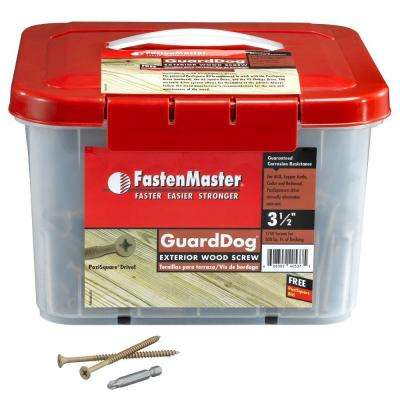 Guard Dog 3-1/2 in. Wood Screw (1350 per Pack)