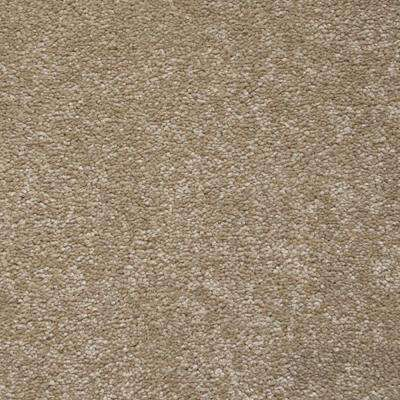 Carpet Sample - Starry Night II - Color Fawn Texture 8 in. x 8 in.