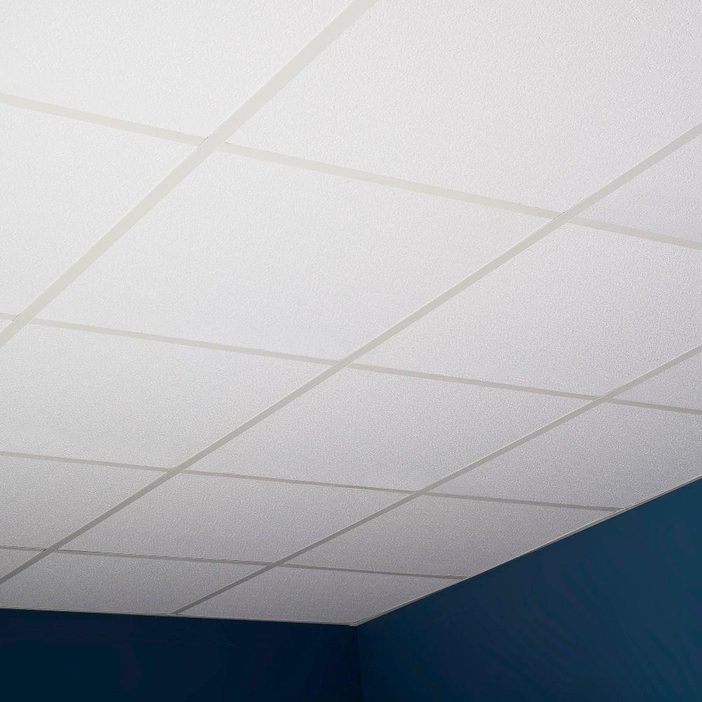 Genesis 2 Ft X 2 Ft Stucco Pro Lay In Ceiling Panel