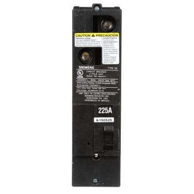 225 Amp Double-Pole 10kA Type QS Multi-Family Main Breaker