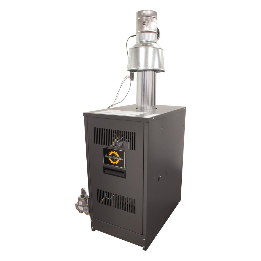 RRG Series 84% AFUE Gas Water Boiler with 130,000 BTU Input and ...