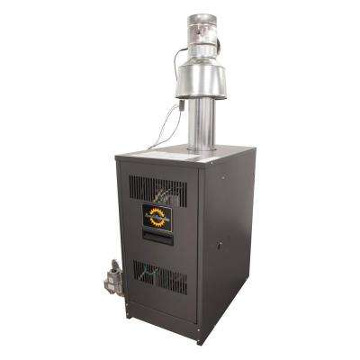 RRG Series 84% AFUE Gas Water Boiler with 130,000 BTU Input and 96,000 Output